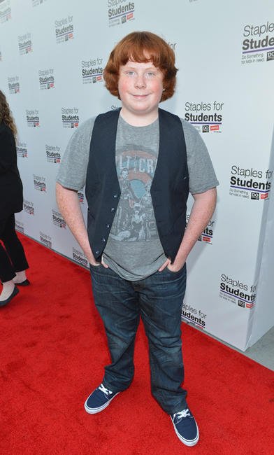 Tucker Albrizzi at the Staples, DoSomething.org & Bella Thorne party in California.